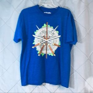 Ninja turtles we love fine t-shirt large